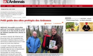 Petit guide des sites protégés des Ardennes
