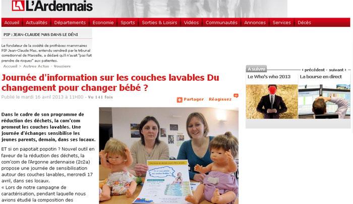 Journ e d information sur les couches lavables du - Toutes les marques de couches pour bebe ...