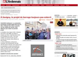 À Savigny, le projet de barrage toujours pas enterré