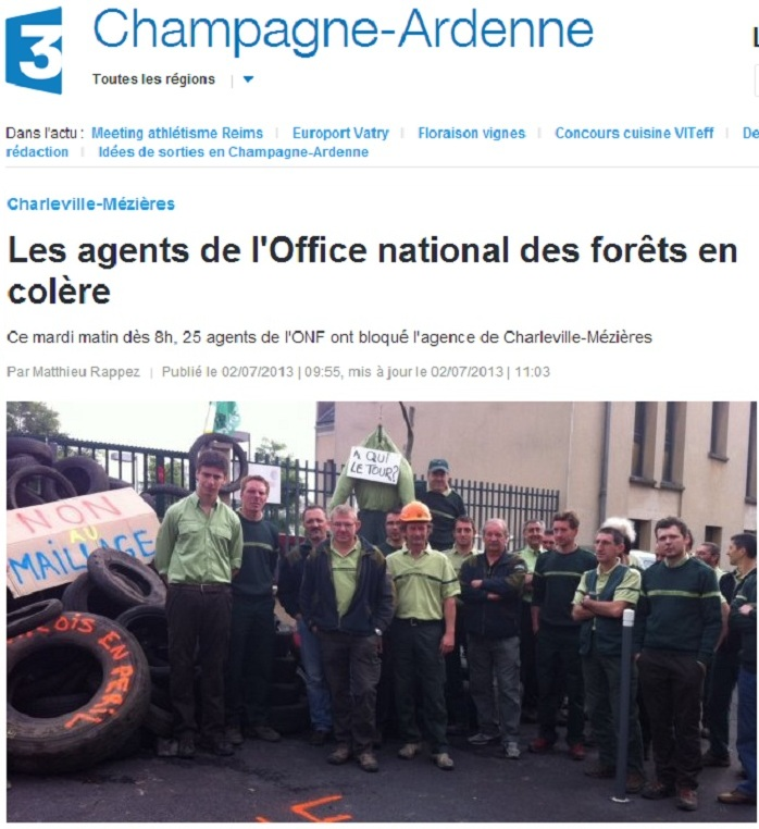 Office national des for ts comit local de sedan vouziers - Office national des foret ...