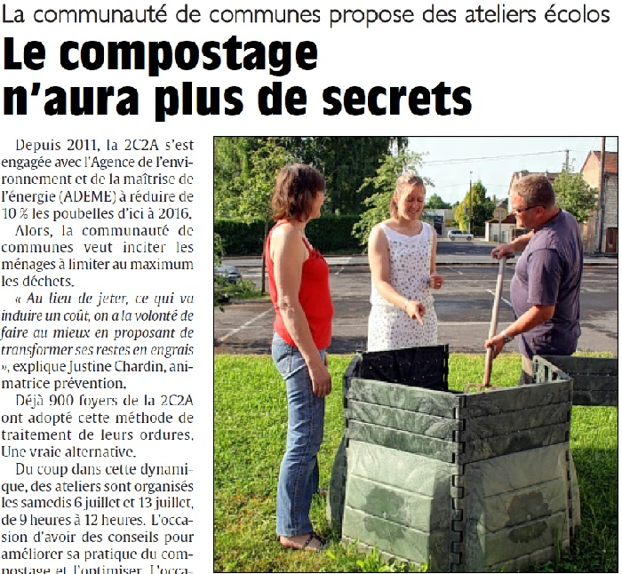 Le compostage n'aura plus de secrets